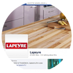 E-reputation management for DIY Lapeyre stores