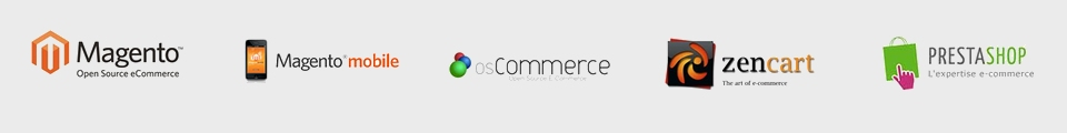 digital BRAND, ecommerce solutions with Magento, Magento mobile, osCommerce, zencart, Prestashop